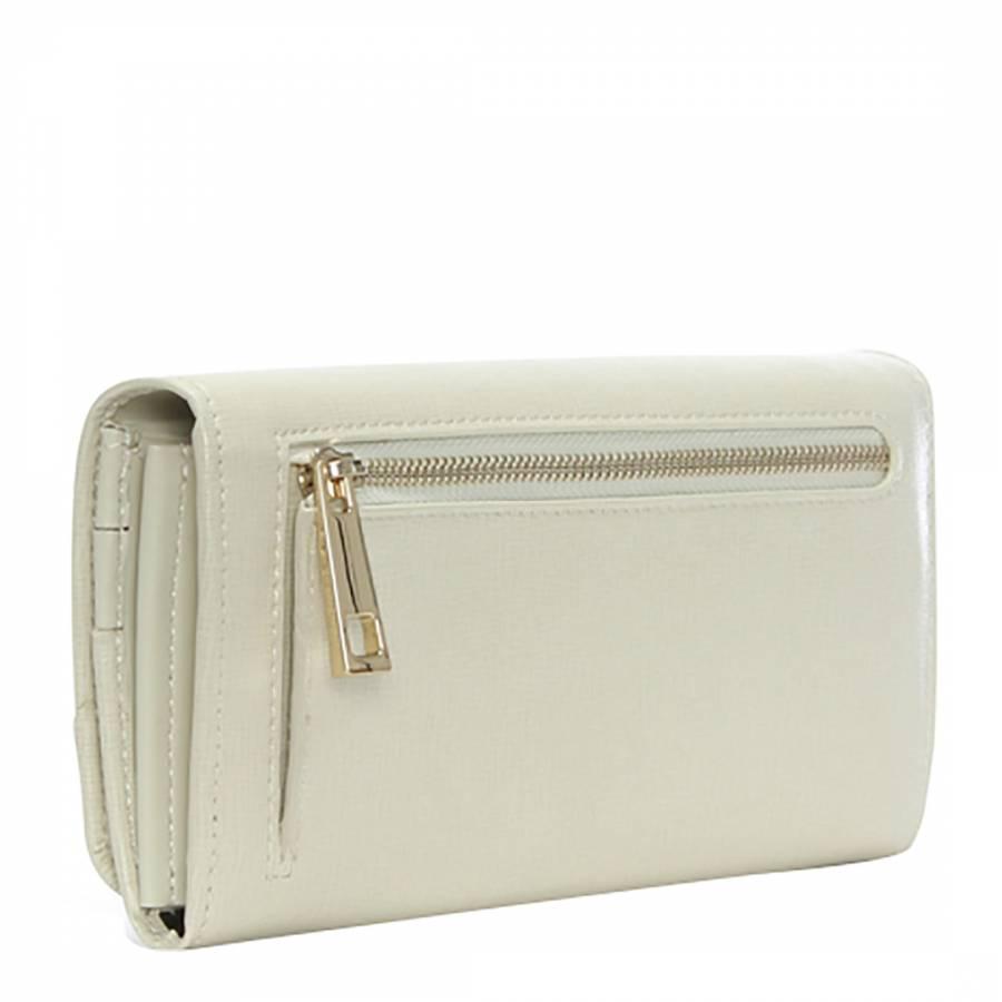 c78e9a78bab8 Women's White Textured Leather Purse - BrandAlley
