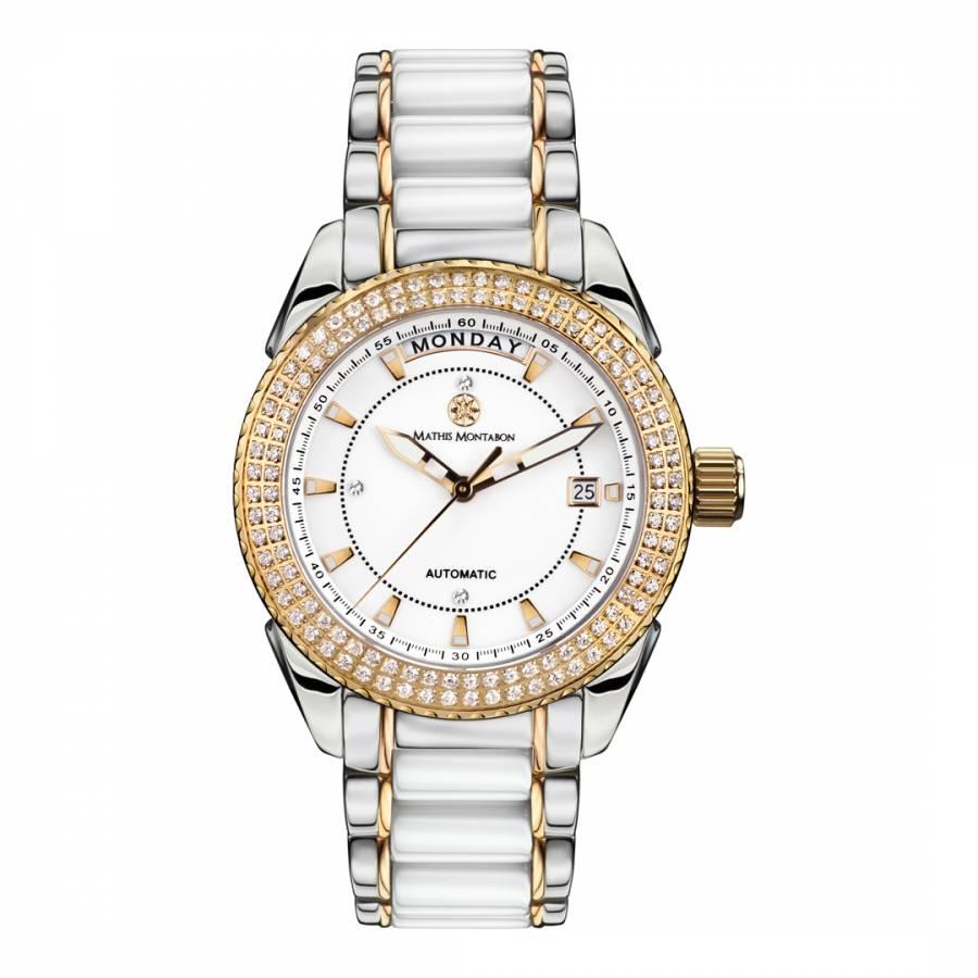 718f2979c Mathis Montabon Ladies Silver/Gold Stainless Steel La Magnifique Watch