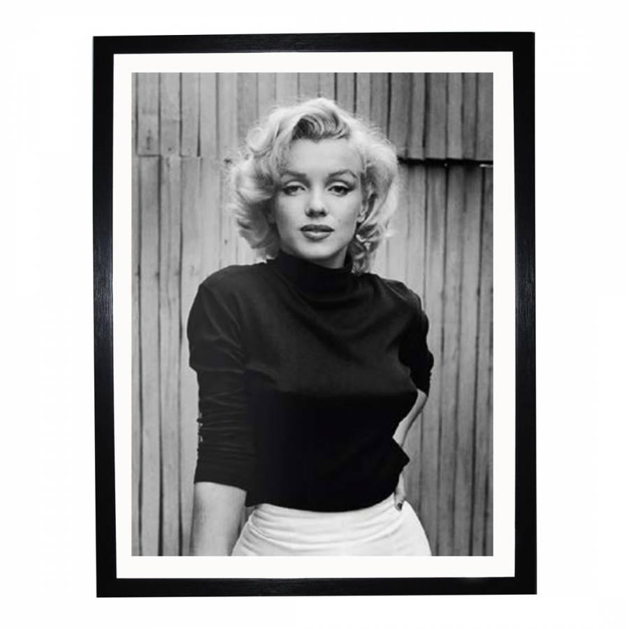 Marilyn Monroe Framed Print, 50x40cm - BrandAlley