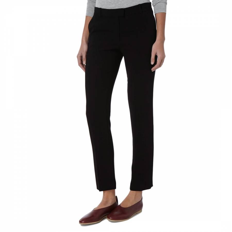 prevalent los angeles temperament shoes Black Ben Straight Leg Trousers - BrandAlley