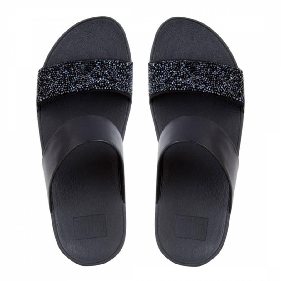 Sparklie Crystal Slide Sandals