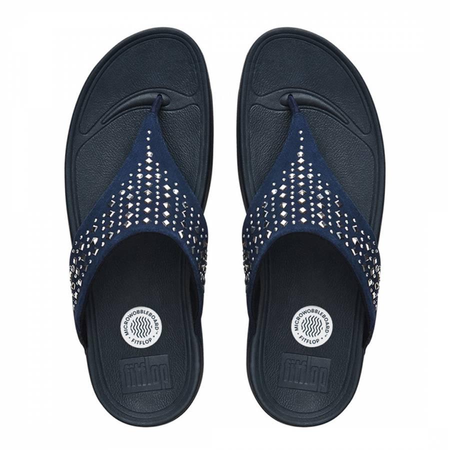 2ba05fd3fd41e Women s Supernavy Novy Toe Post Sandals - BrandAlley