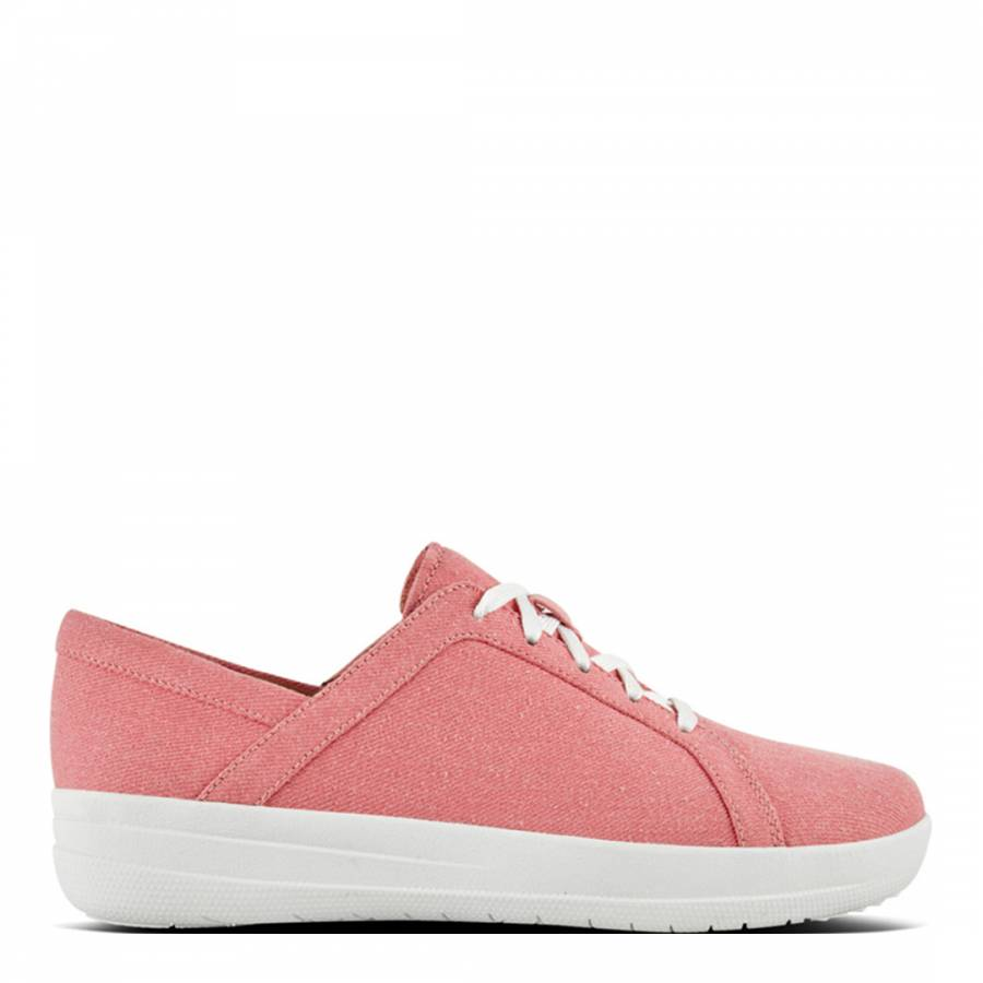 282d13e0dad3 Womens Pink Shimmer denim F Sporty Sneakers - BrandAlley