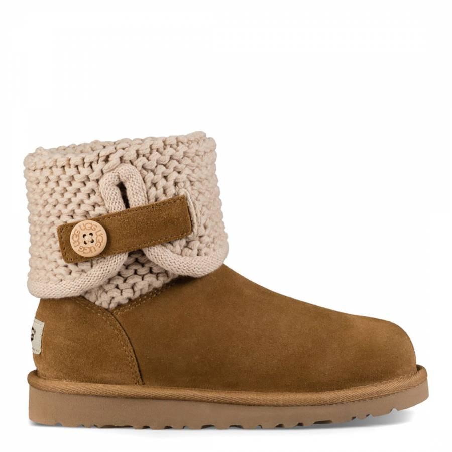 3efa217a037 Chestnut Darrah II Suede Boot - BrandAlley