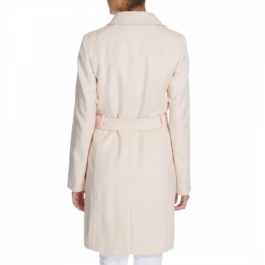 96e747343 Beige Canika Luxe Wool Coat - BrandAlley