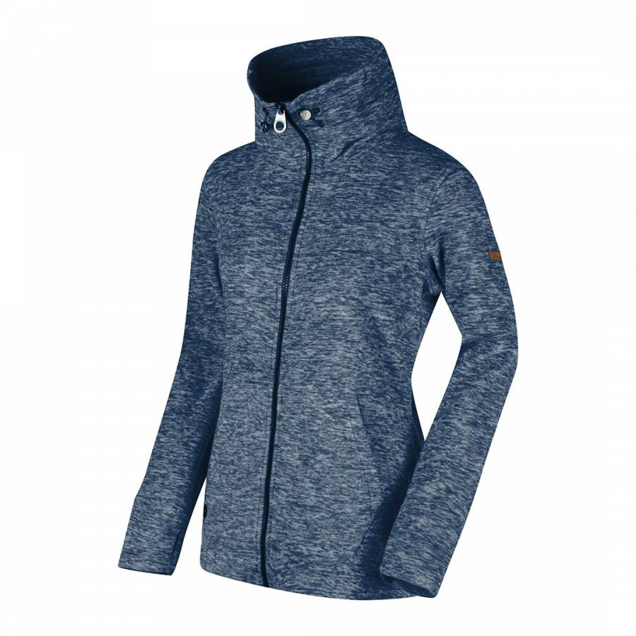 women s navy elayna fleece jacket brandalley