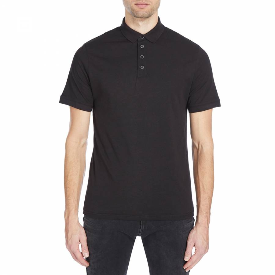 Image of Black Norland Polo Top