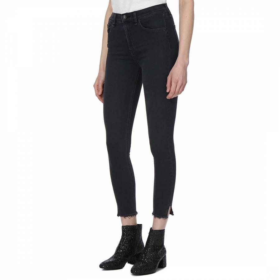 ab4a19e6401 Women's Black Flamingo 10 Inch Capri Jeans - BrandAlley