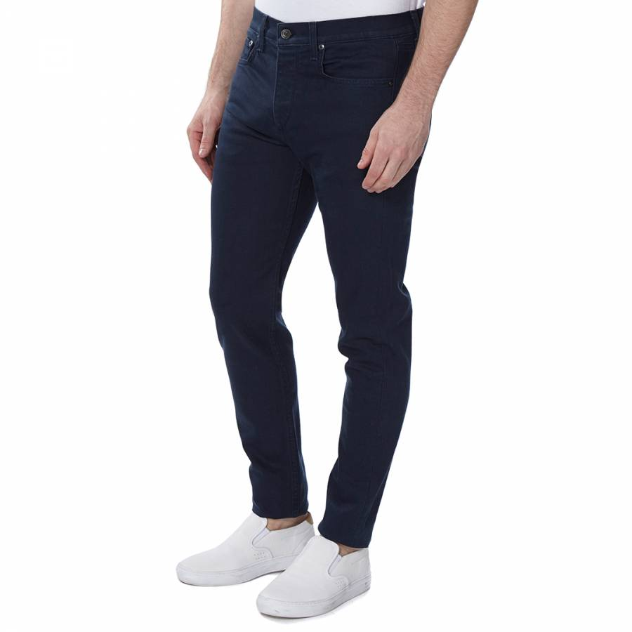 1d83bc2b5d84 Men's Coated Navy Fit 1 Slim Fit Jeans - BrandAlley