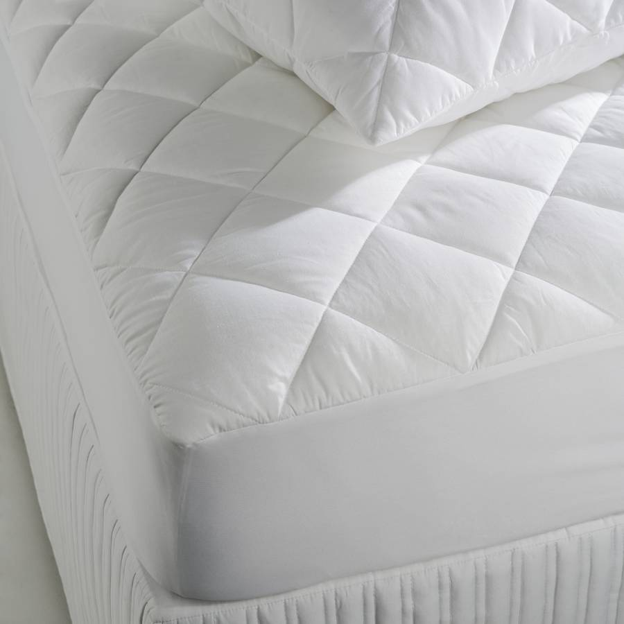 Cotton Cover King Mattress Protector - BrandAlley