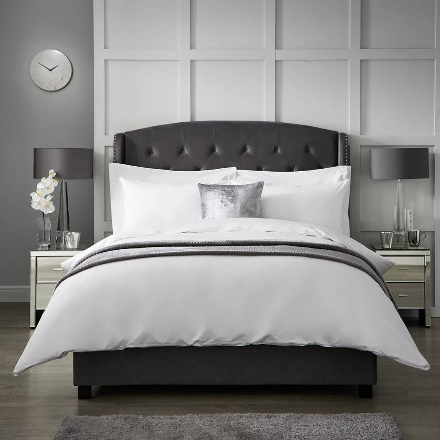 Image of 1000TC Double Duvet Cover White