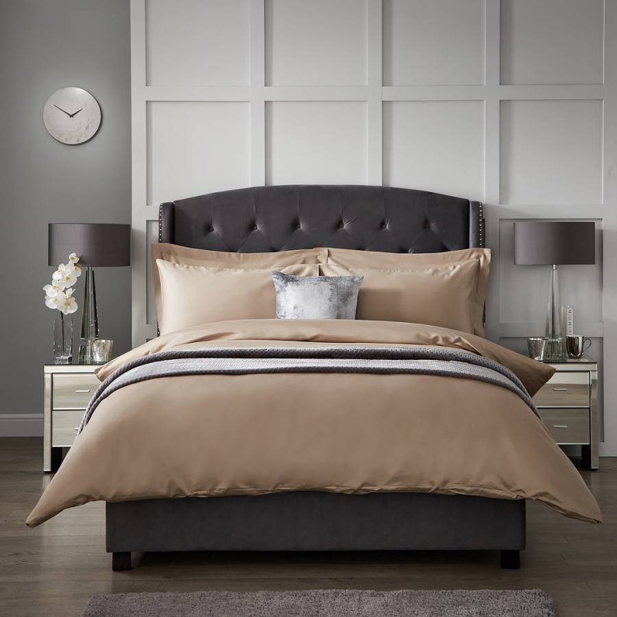 Image of 1000TC Double Duvet Cover Flax