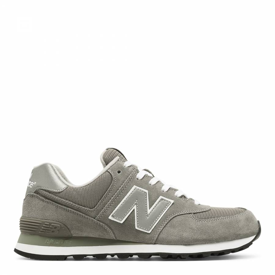 new balance 574 beige suede trainers