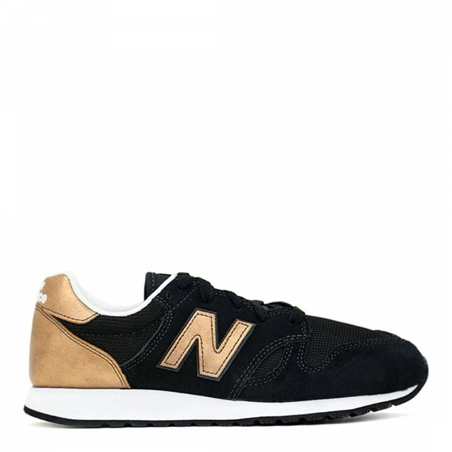 clearance new balance black and gold trainers ef495 4414e