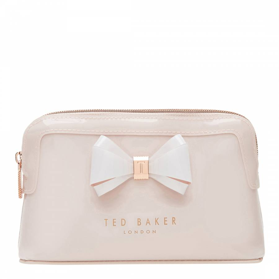 d0a16a81250 Womens Pink PVC Aimee Make-Up Bag - BrandAlley