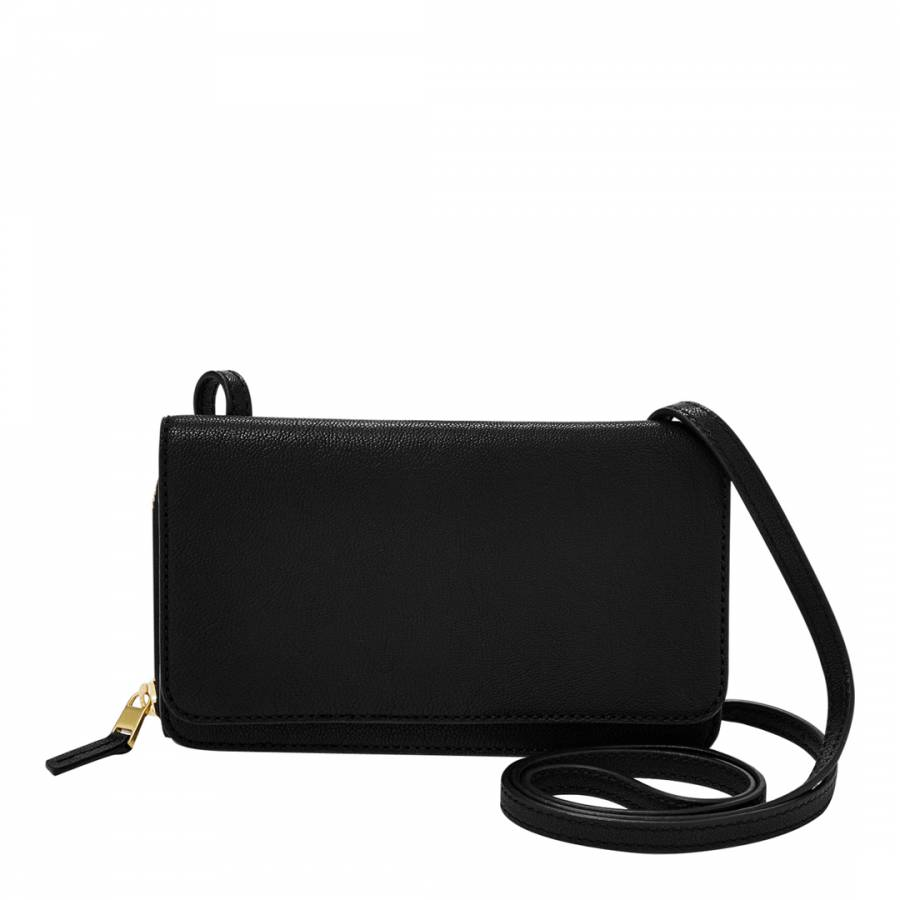 Women's Black Leather Brynn Mini Bag
