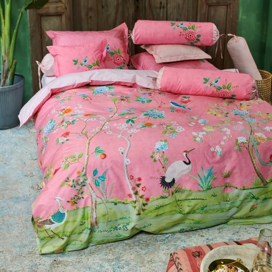 Good Morning Sunshine Quilt Cover : Good morning king duvet cover set pink brandalley