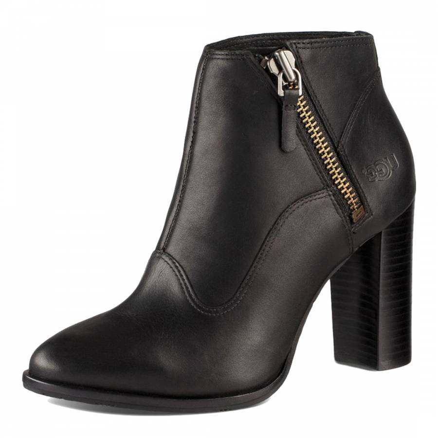 e20ca3655 Women's Dolores Black High Heel Ankle Boot - BrandAlley