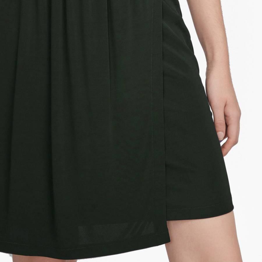 54b76ec8c7a4b9 French Connection Black Elsa Long Sleeved Draped Jersey Dress. prev