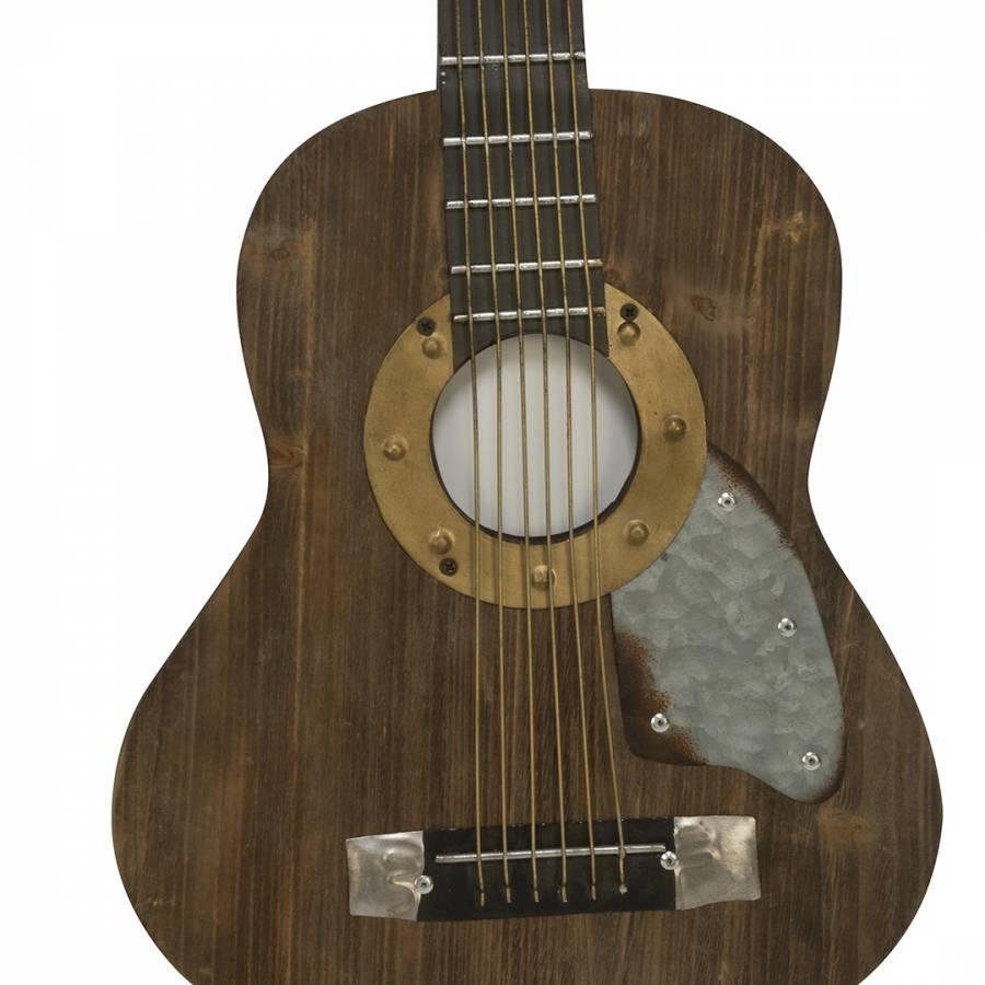 rustic decor acoustic guitar brandalley. Black Bedroom Furniture Sets. Home Design Ideas
