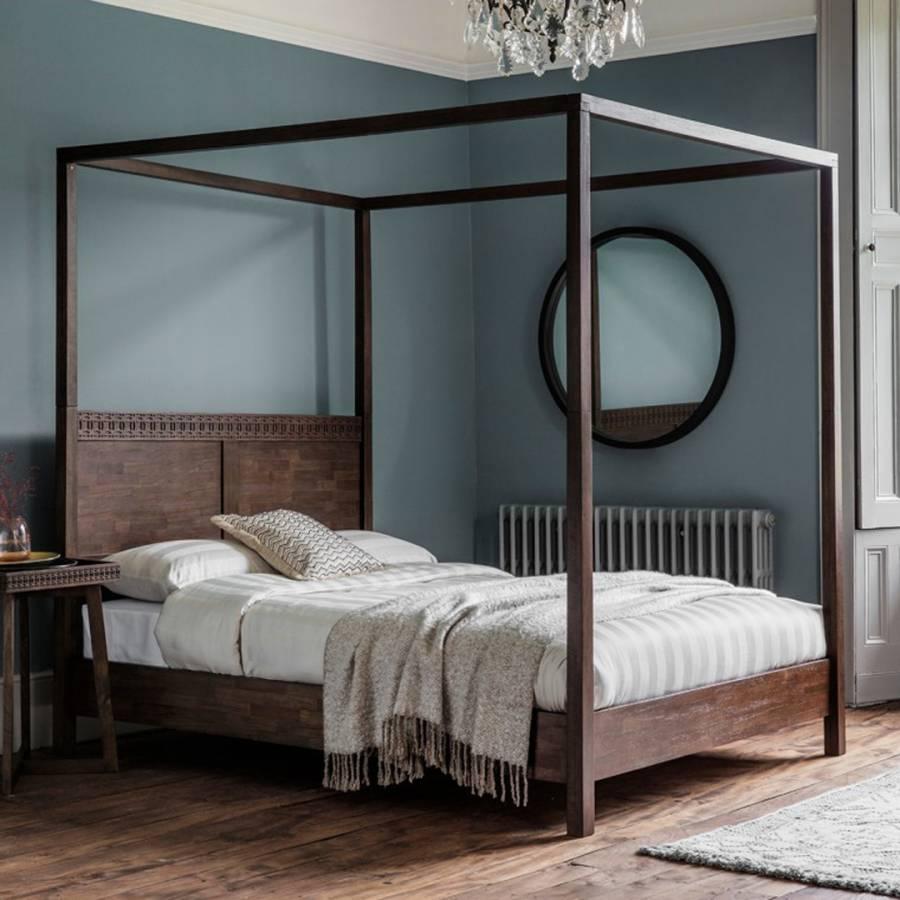 boho retreat 4 poster super king bed frame brandalley. Black Bedroom Furniture Sets. Home Design Ideas