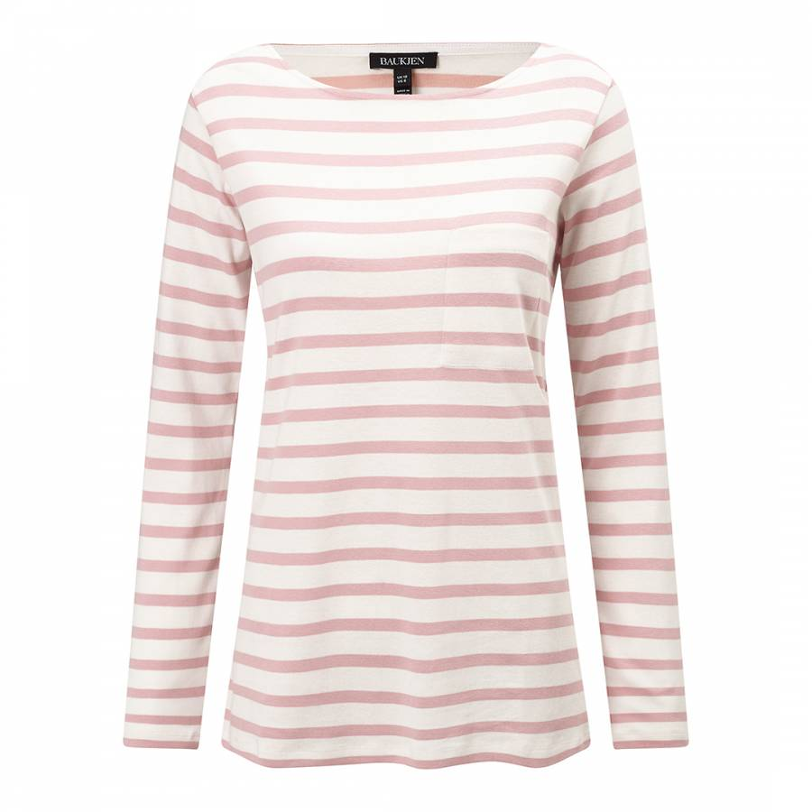 eadbdb5f Baukjen Quartz Pink/White Stripe Lilly Everyday Top