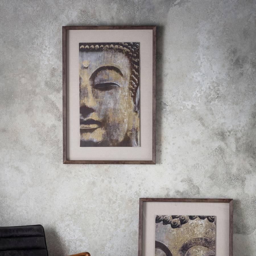 Zen Buddha II Framed Art 64x94cm - BrandAlley