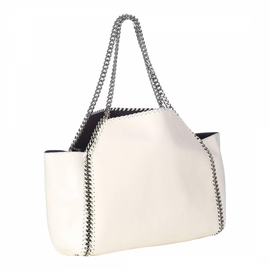 a3b88641e501 Stella McCartney White Falabella Reversible Tote Bag