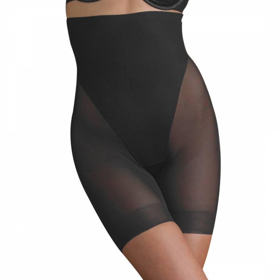 c545b7a1ef Naomi   Cupid Shapewear Black High Waist Thigh Slimmer Shorts