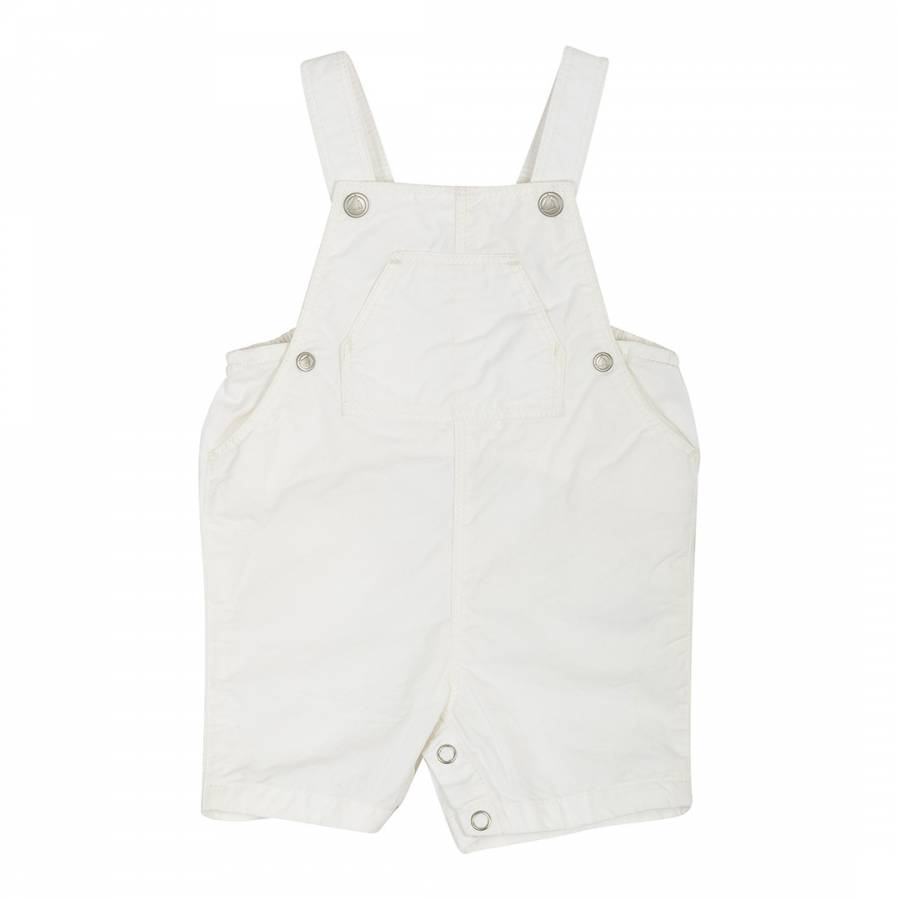 9aae134b6d3d Baby Boy s Grey Striped Short Dungarees - BrandAlley