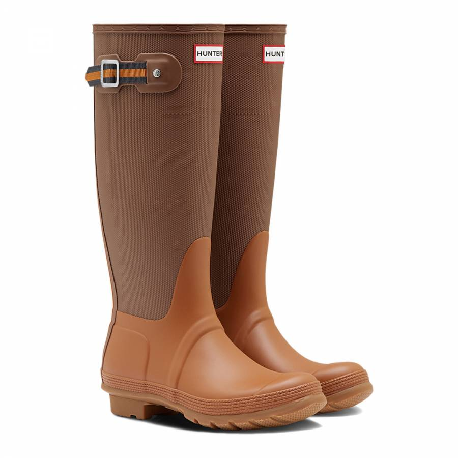 66ddf6cb4 Women's Brown Original Sissinghurst Tall Wellington Boots - BrandAlley