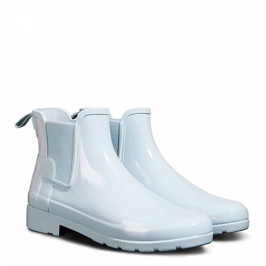 d4f78637b70 Women's Pale Blue Original Refined Chelsea Gloss Boots - BrandAlley