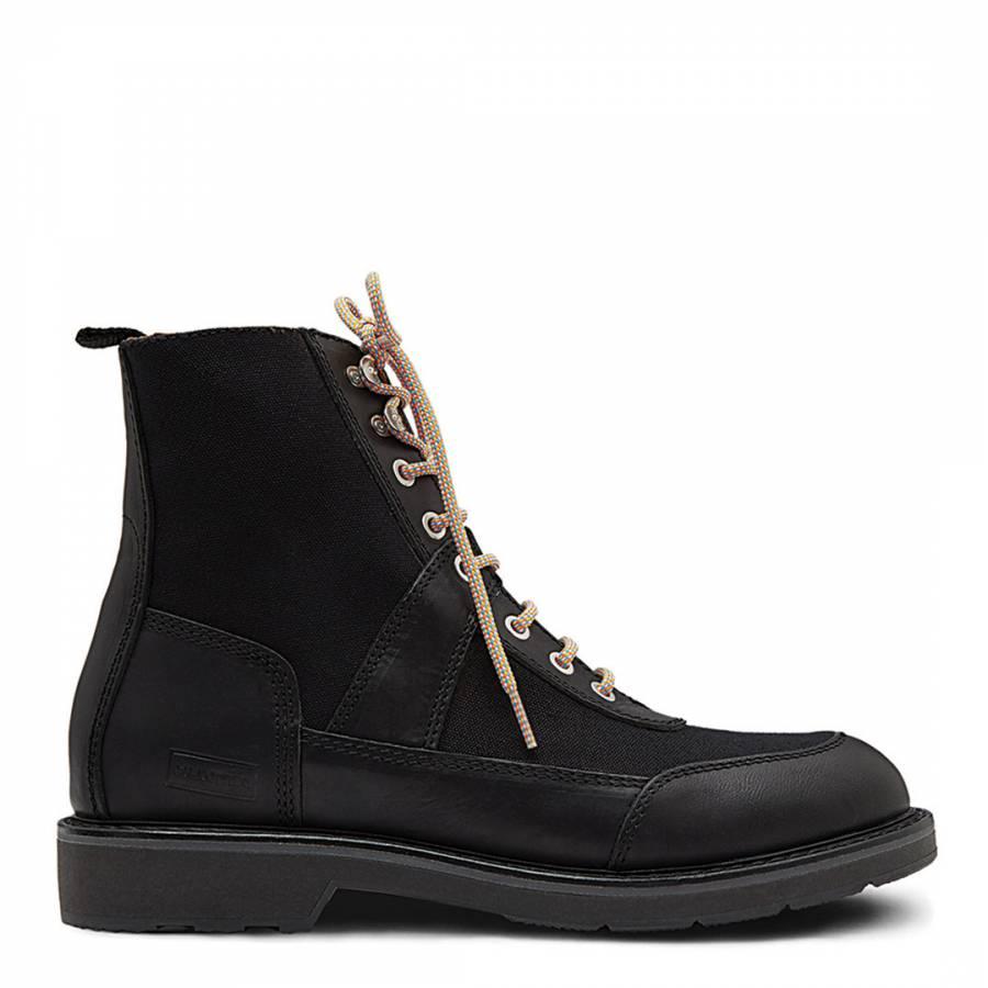 Men S Black Original Commando Boots Brandalley
