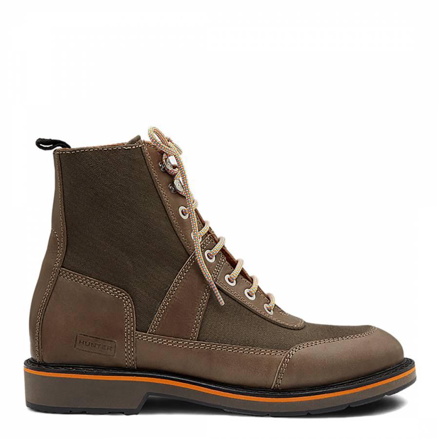 5dbf6883d1f Men's Olive Green Original Commando Boots - BrandAlley