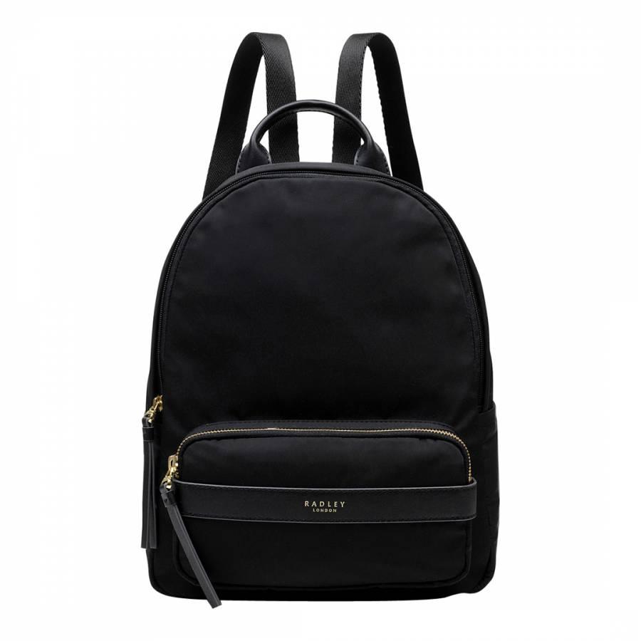 Black Harley Medium Ziptop Backpack - BrandAlley 1cb5b271ee