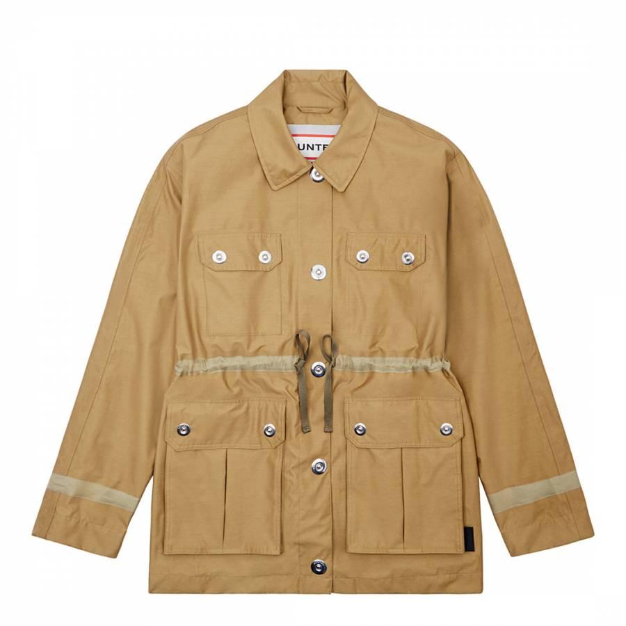 Image of Beige Refined Garden Jacket