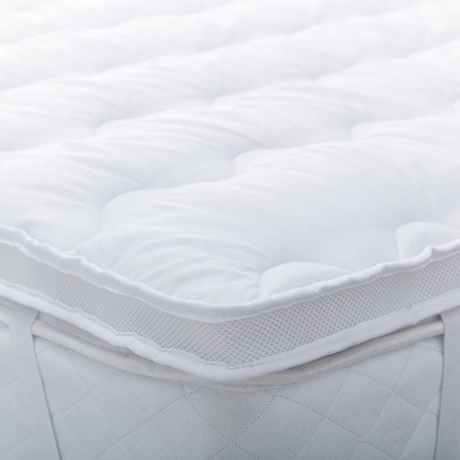 silent night air max mattress topper double