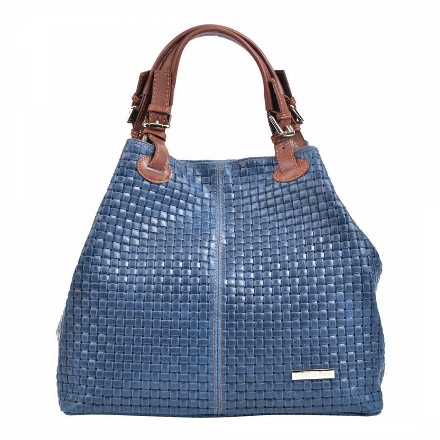 0be3dbe88a9d ... Blue Leather Shopper Bag BrandAlley Isabella Rhea Blue Leather Shopper  Bag Source · Ashwood Large Leather Shopper Bag Burgundy 62102 Handbags from