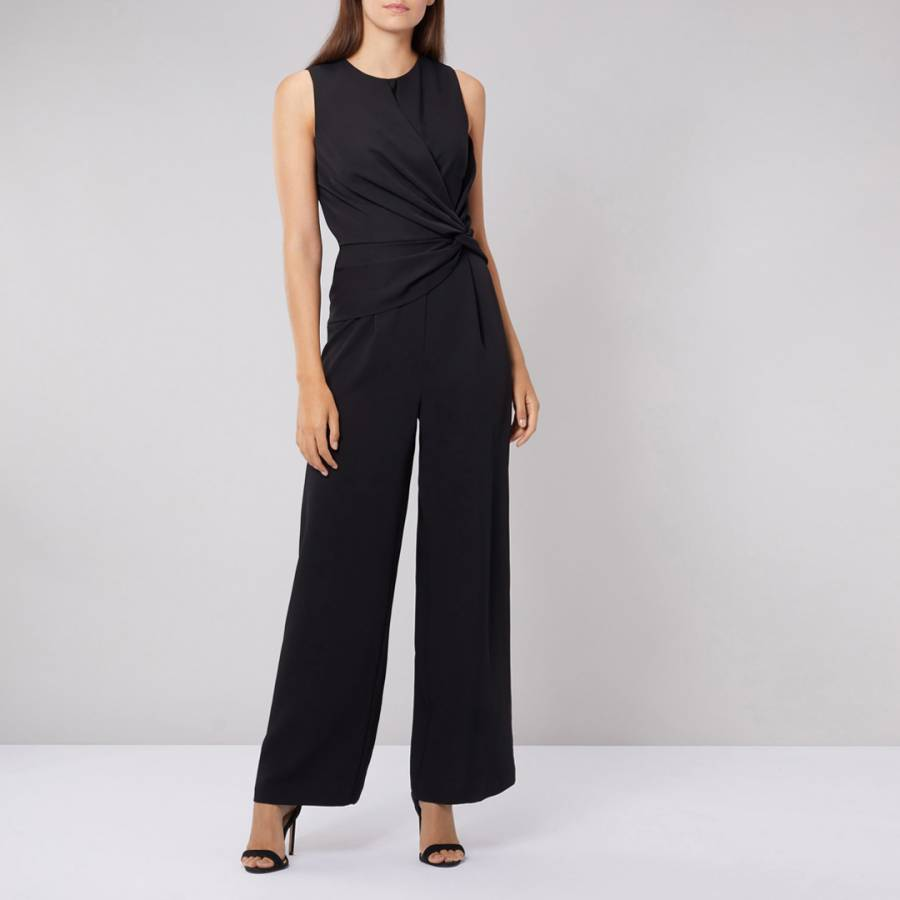 e58b3ec17744 Black Mimi Jumpsuit - BrandAlley