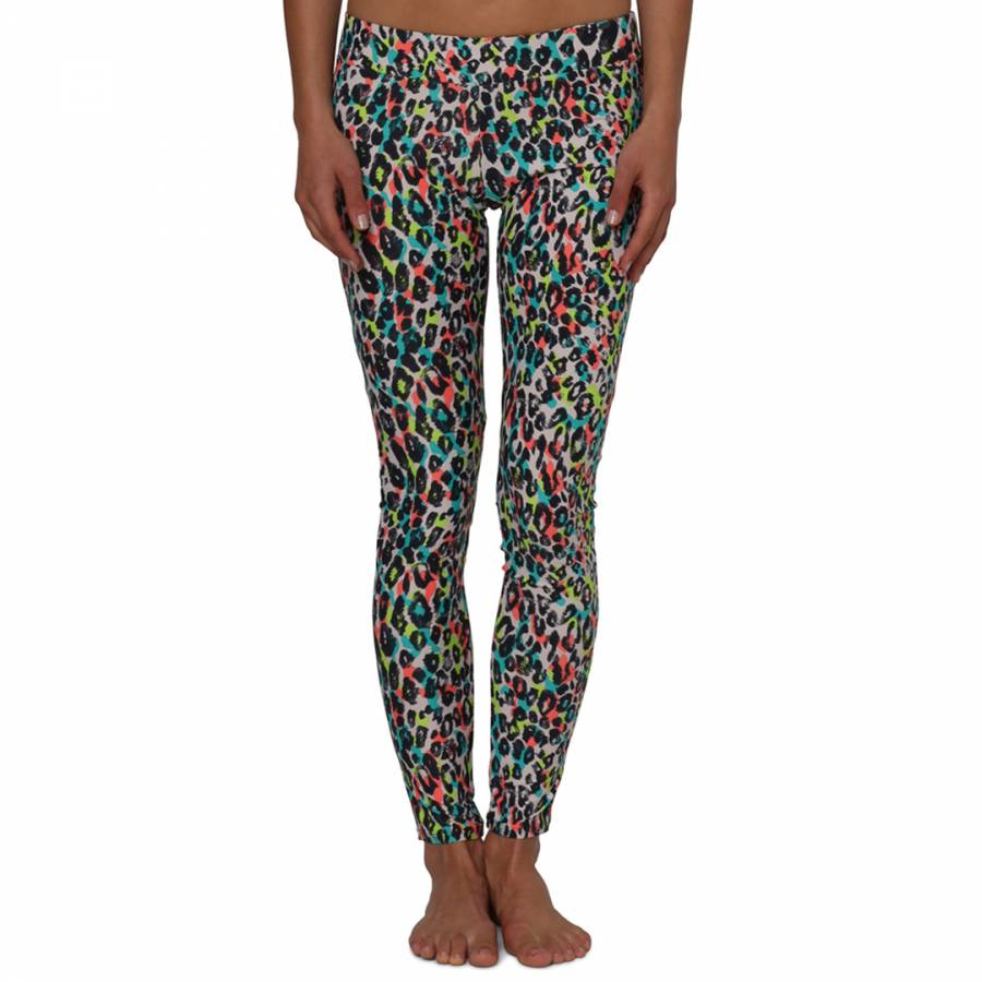 590039ac7916f9 White Animal Print Sunstroke Leggings - BrandAlley