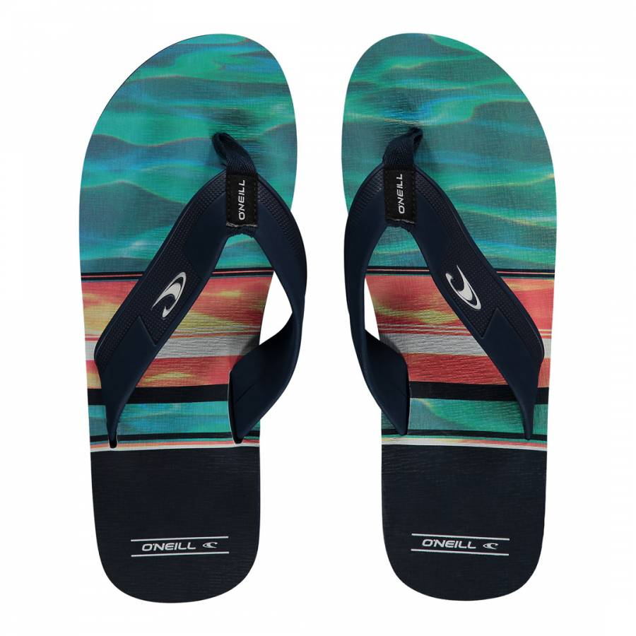 b73aa0f8c98 Multi Imprint Pattern Flip Flops - BrandAlley