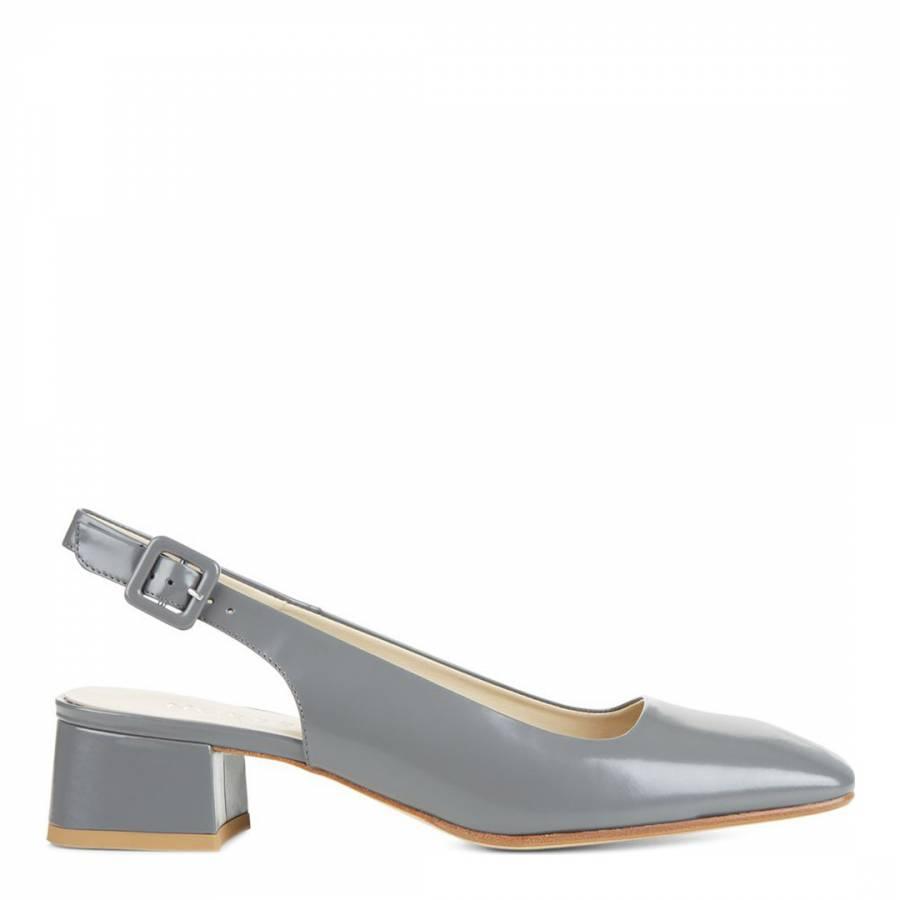 c19c9acc6ebcf Hobbs London Grey Leather Jess Slingback Shoes
