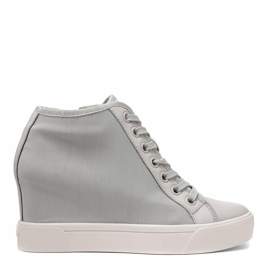 14a065311bd2 Limestone Cindy Wedge Sneakers - BrandAlley