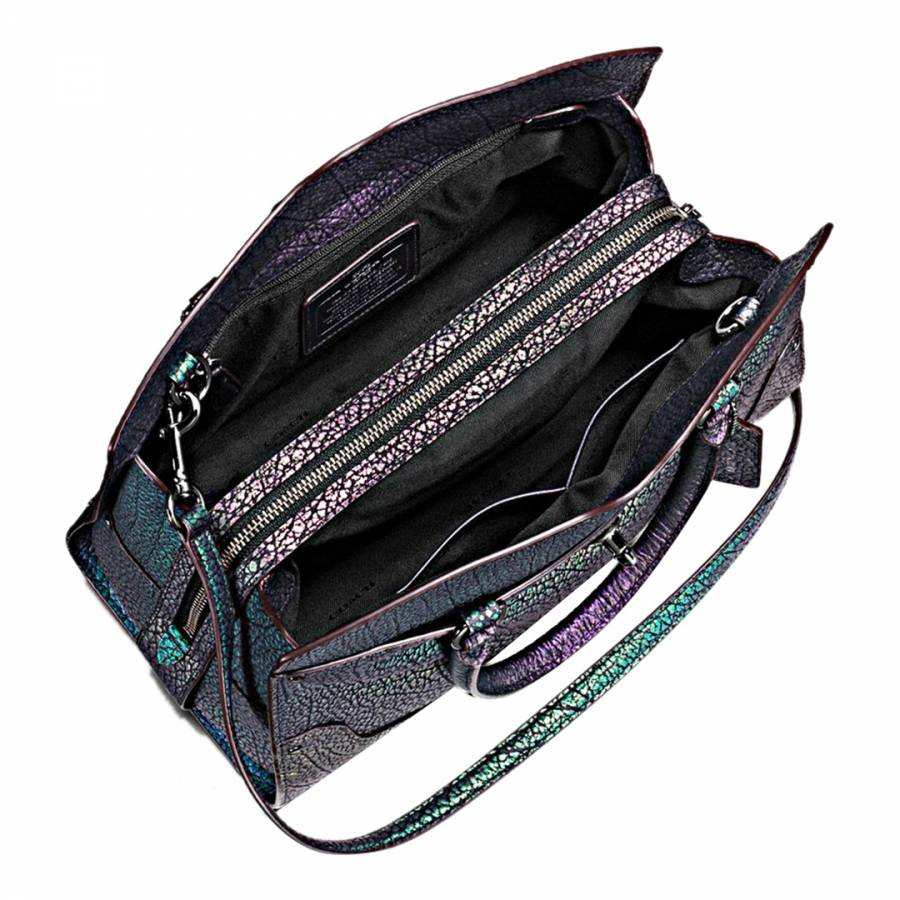 235c67dab8 Hologram Leather Mercer 30 Satchel - BrandAlley