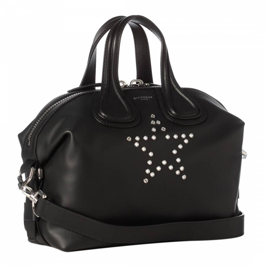 c69d22a6c7441 Black Givenchy Micro Nightingale Tote Bag - BrandAlley