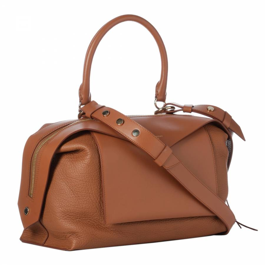 e206a72b3329 Cognac Givenchy Medium Sway Tote Bag - BrandAlley