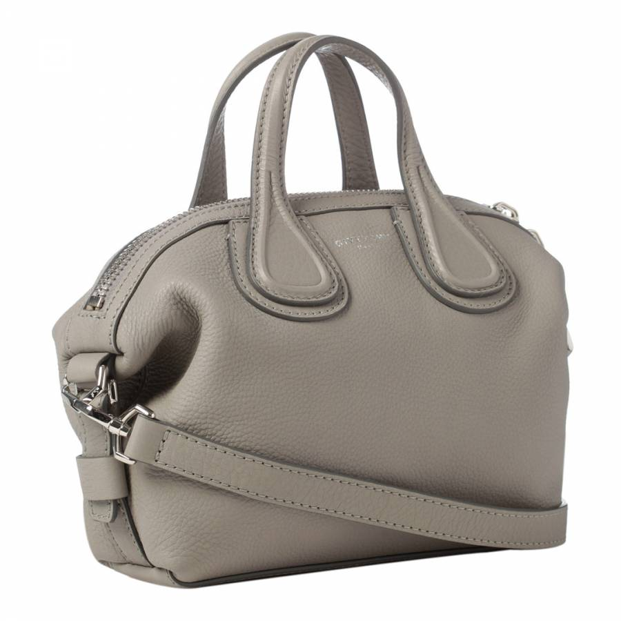 d257ec3ad897 Grey Givenchy Micro Nightingale Tote Bag - BrandAlley