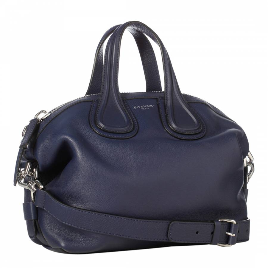 f3bcc86f6931 Blue Givenchy Small Nightingale Tote Bag - BrandAlley