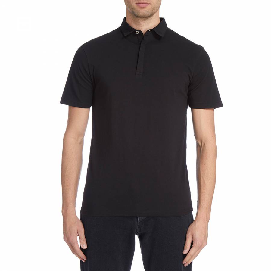 Image of Black Arthur Polo Top