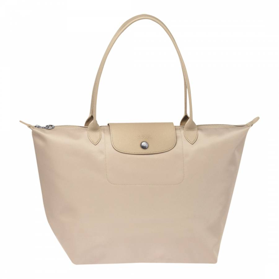 b60a9a8f7dde Longchamp Beige Le Pliage Neo Large Tote Bag. prev. next. Zoom